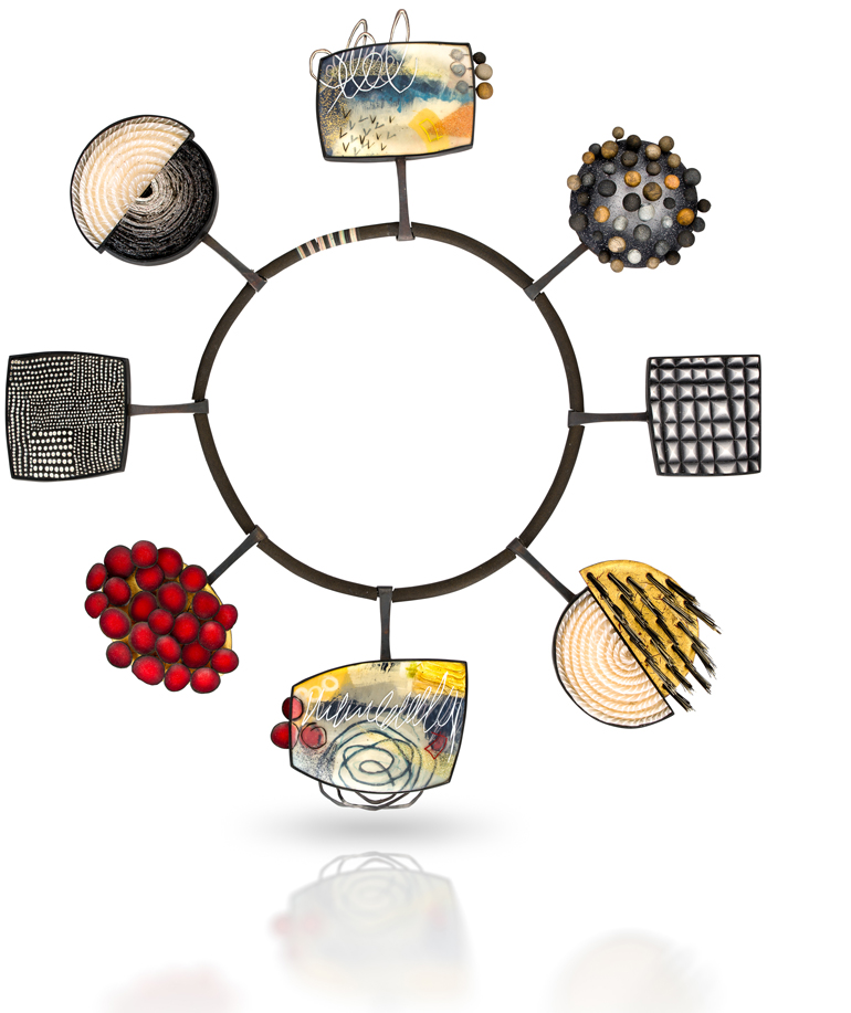 Kathleen Dustin Wearable Objet D Art Handbags And Jewelry In Alternative Materials