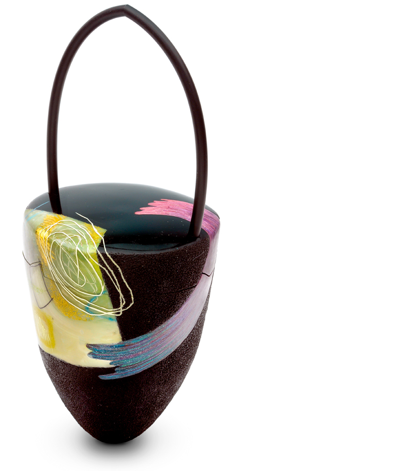 Handbags And Jewelry From Alternative Materials Copyright 2018 Kathleen Dustin