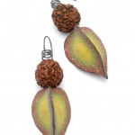 Seed & Pod Earrings - Autumn Green