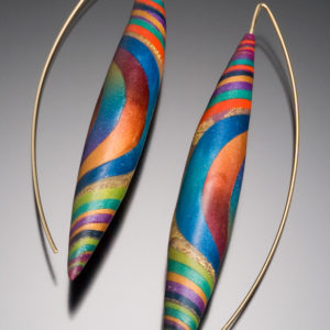 Shimmering Twist Earrings