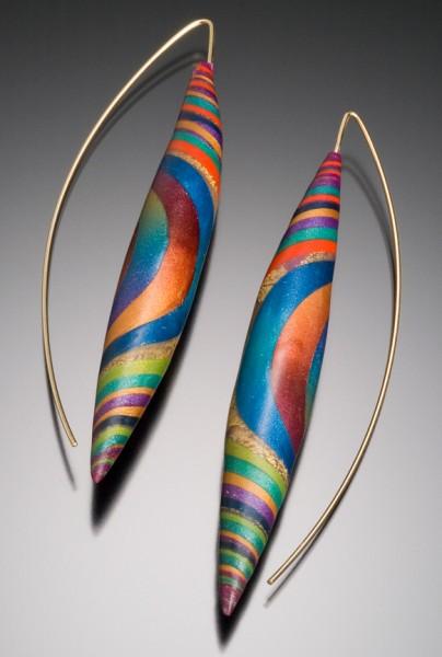 Shimmering Twist Earrings