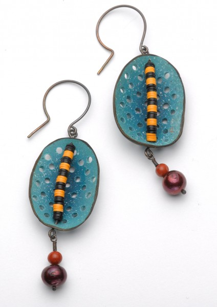 Blue Circus Earrings